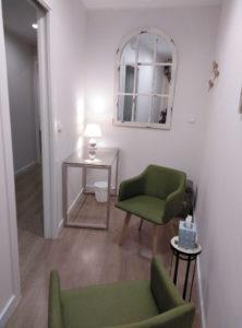 sillas del despacho 5 del Centre Sagrada Familia